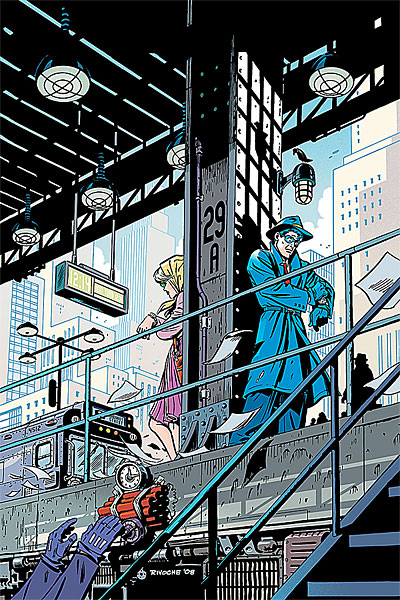 Mister X  New Mister X comics  Little Nemo  Terminal City